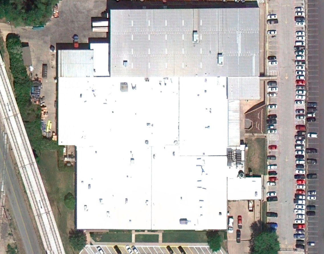 Hilite International Building - Carrollton, Texas - New GenFlex TPO Roofing