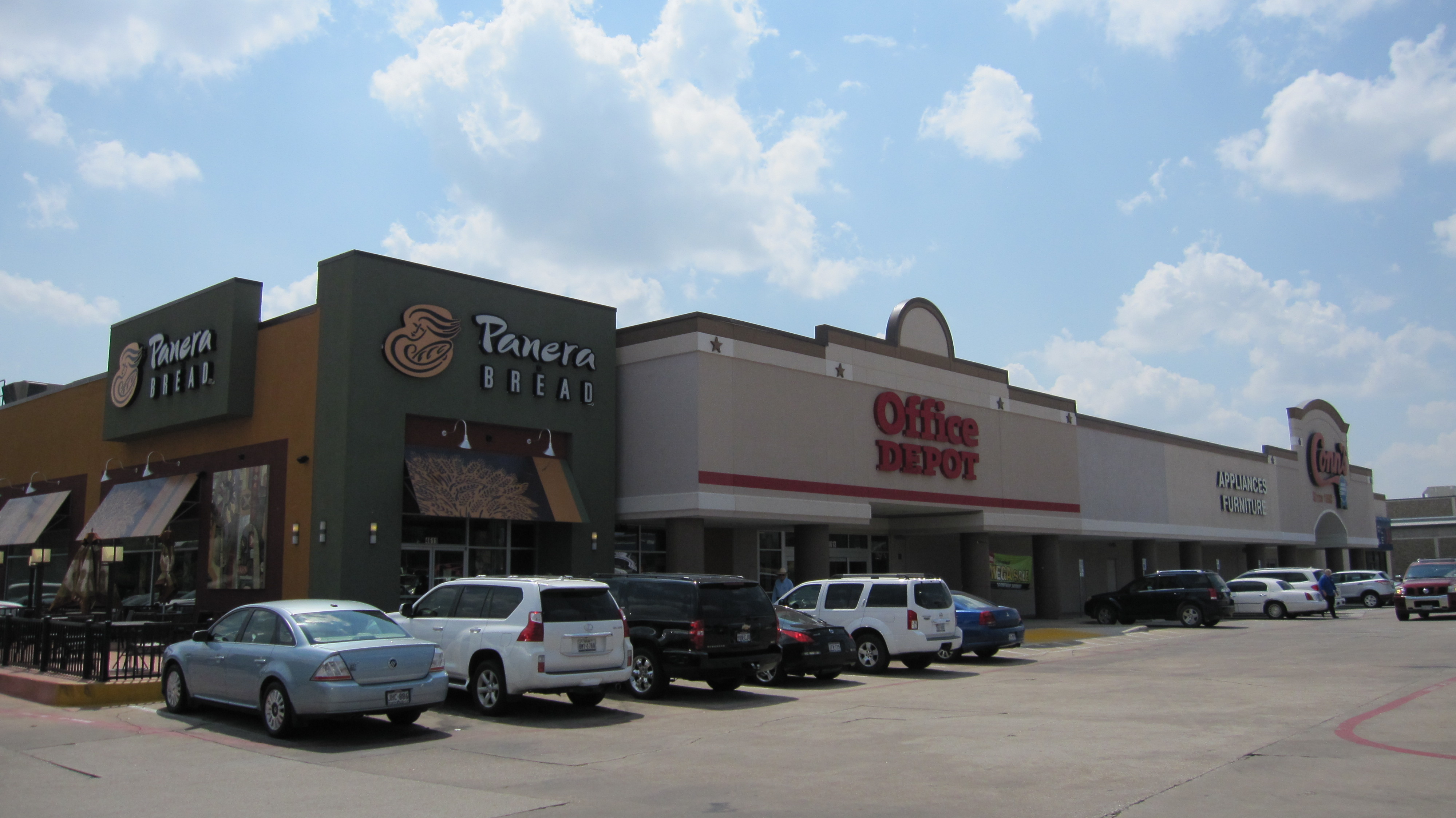 Office Depot / Panera Bread / Conn's / Casual Male Shopping Center