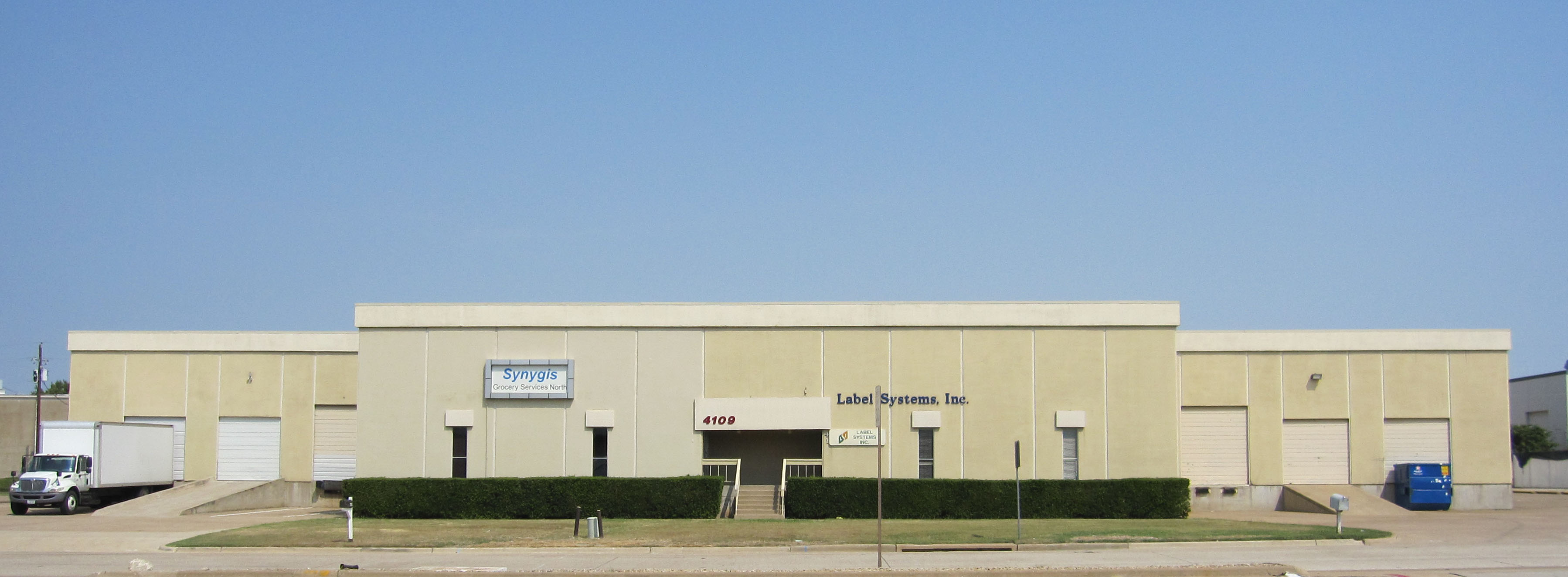 Label Systems Building - Addison, Texas